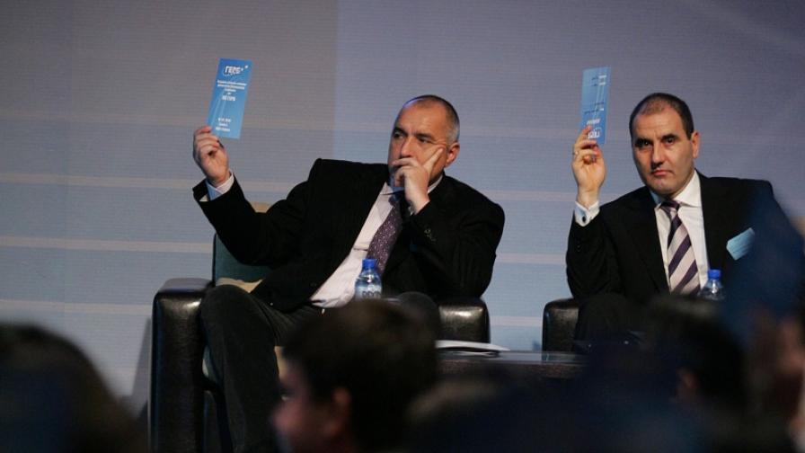 Бойко Борисов стана и председател на ГЕРБ