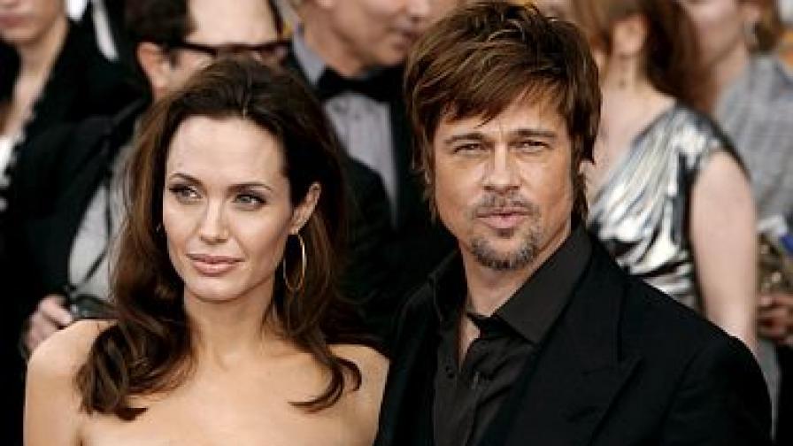 """""""Сънди таймс"""": Брад Пит и Анджелина Джоли се разделят"""