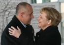 Посрещането на българския премиер от Меркел