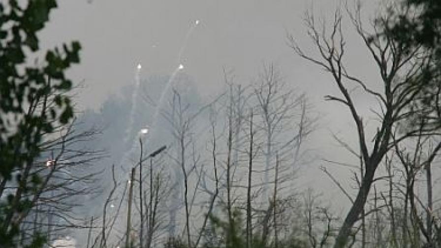 Експлозии в завод за взривни вещества в Горни Лом