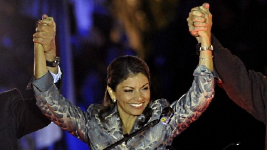 Коста Рика си избра жена президент