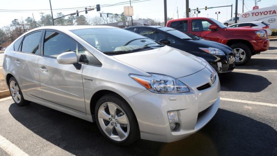 Хибридният модел Toyota Prius