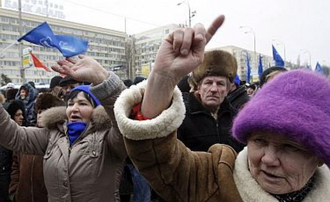 Янукович: Юлия, откажи се вече!