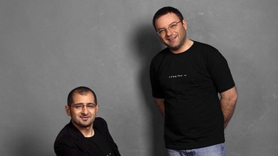 Живко Петров (л) и Ангел Заберски