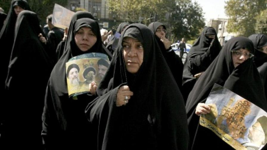 Иракските жени са решени да се борят за правата си