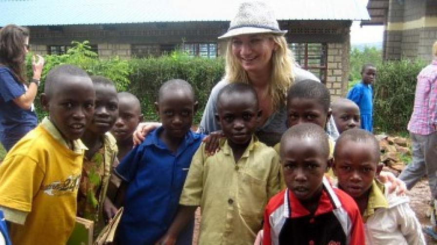 Гергана по време на мисията в Руанда