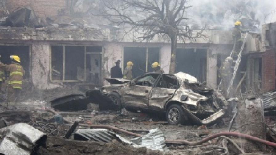 Серия атентати в Кабул
