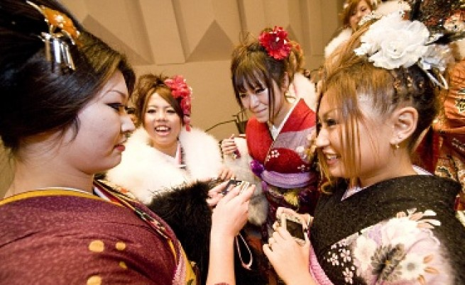 Японците ходят на уроци по свалки