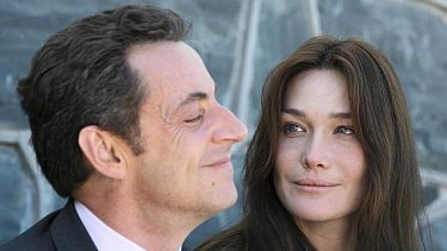 Саркози гневен за слуховете за брака си