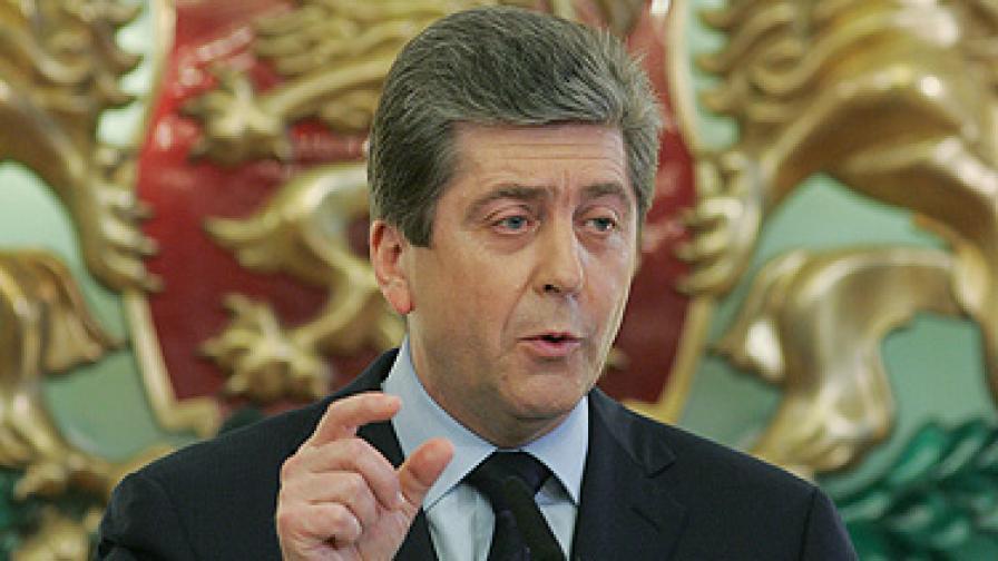 Първанов: Нека проверим и даренията на олигарсите