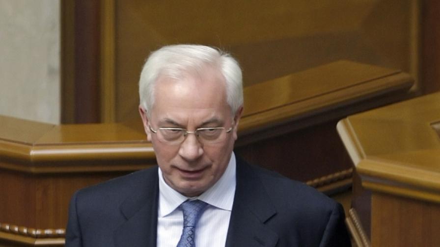 Министър-председателят на Украйна Николай Азаров