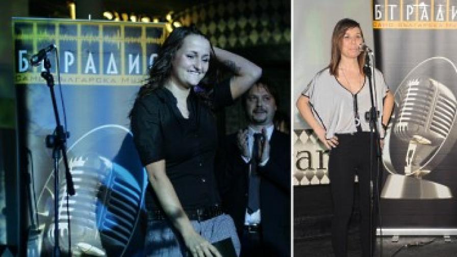 Рут (вляво) и Маги Джанаварова са номинирани не само като дебютантки