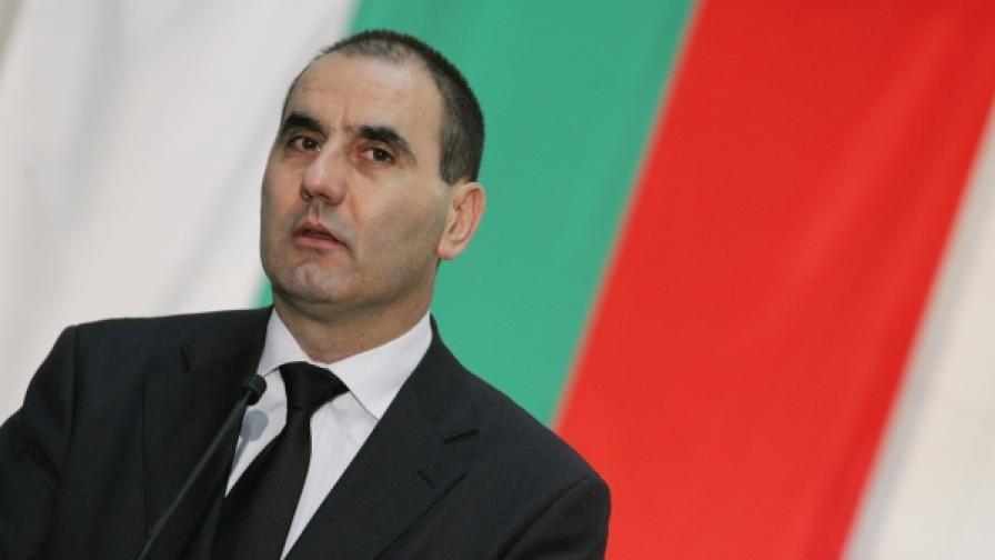 Цветан Цветанов - вицепремиер и министър на вътрешните работи