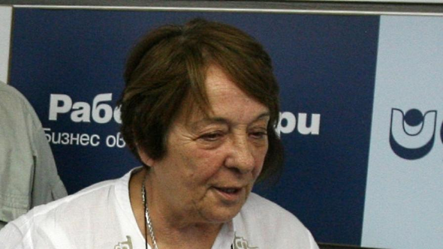 Отстраниха Мая Вапцарова от СЕМ
