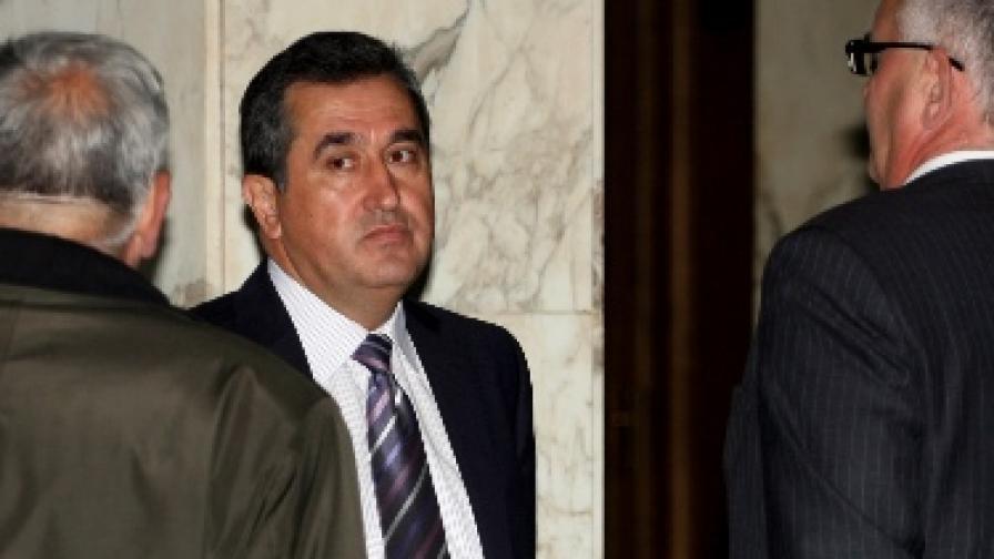 Раиф Мустафа преди съдебното заседание