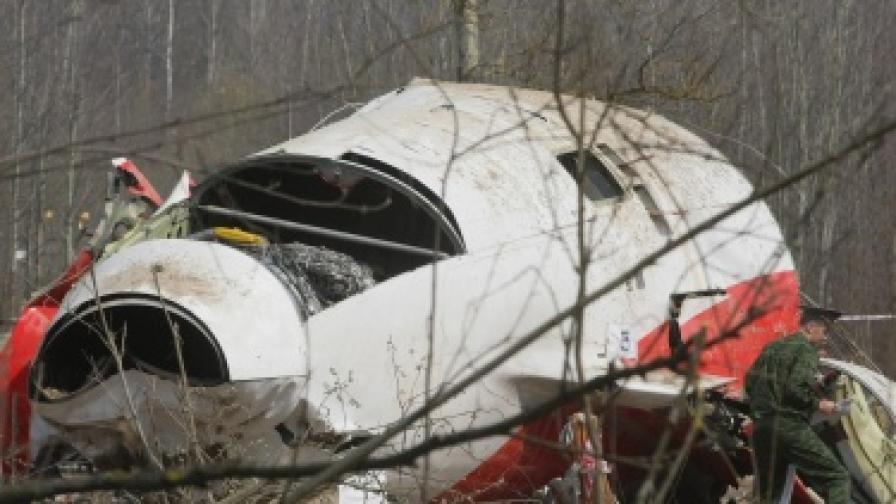 Пилотска грешка свалила самолета на Качински