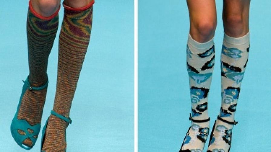 Съчетанието чорапи и сандали вече не е смешно