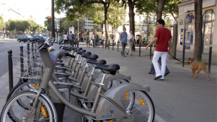 В Букурещ: Елегантни и с велосипед