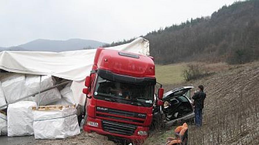 Катастрофите с турски ТИР-ове често се случват по българските пътища