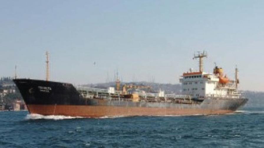 Български танкер отвлечен в Аденския залив