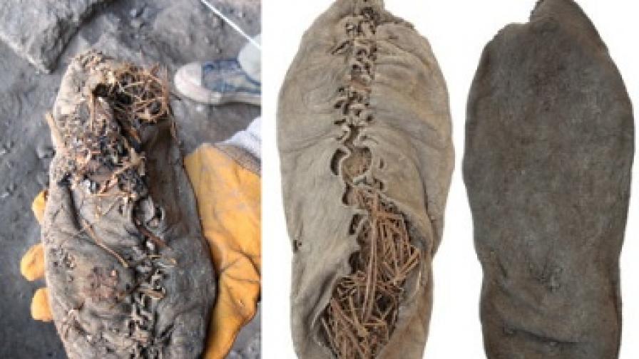 Най-старата обувка в света е на 5500 години