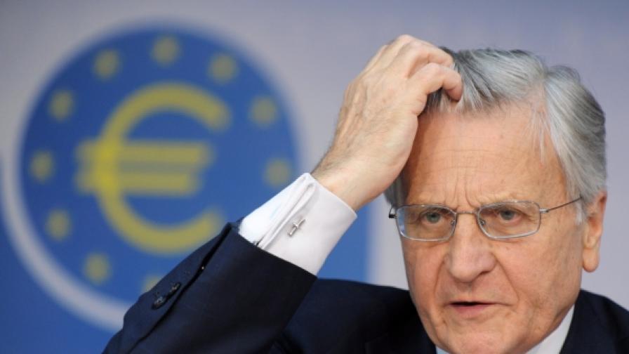 Жан Клод Трише, президент на Европейската централна банка