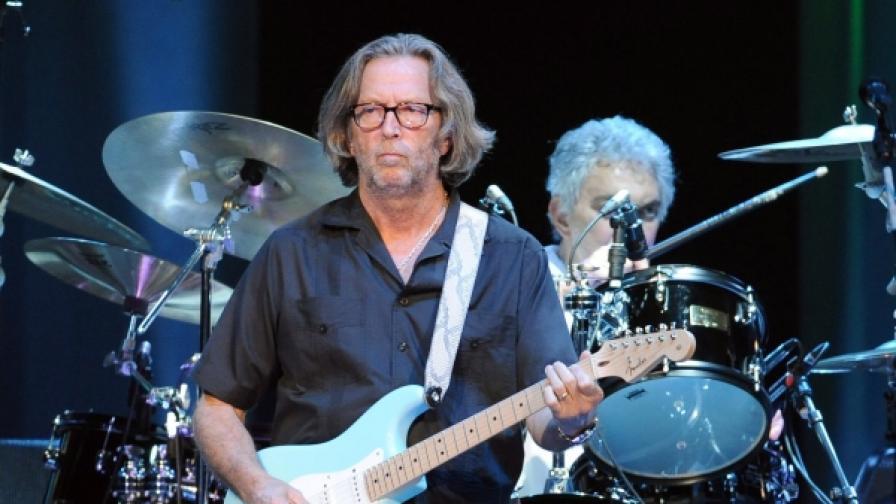 Ерик Клептън на концерт в Берлин на 3 юни 2010