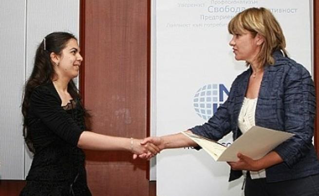 Нона Караджова награди победителите в конкурса