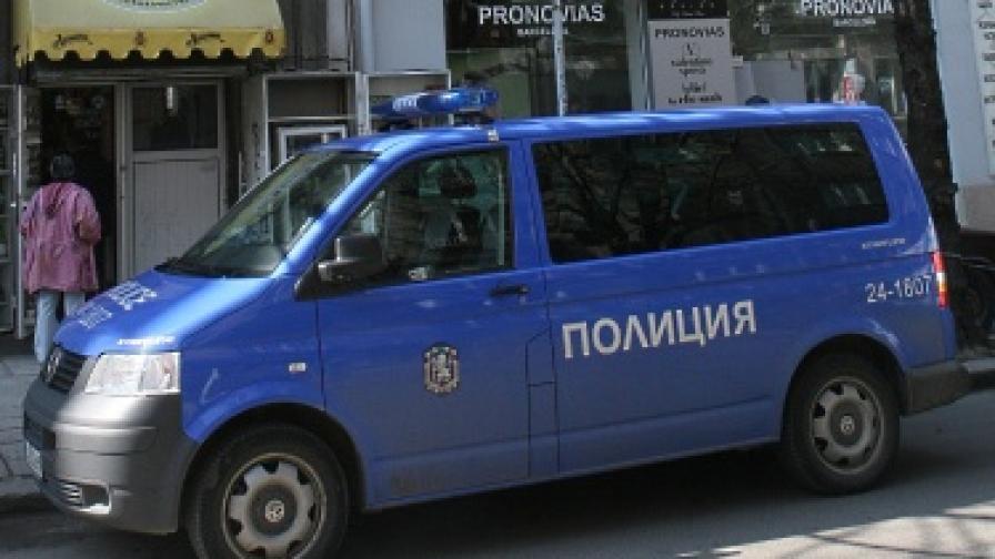 Полицаите разкрили извършителя за няколко часа