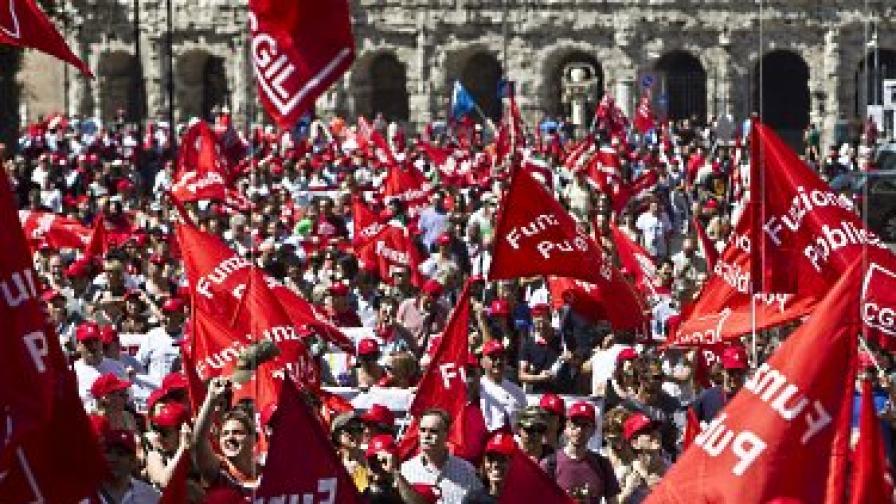Масова стачка в Италия