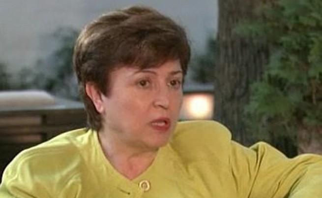 Кристалина Георгиева: България може да си позволи по-висок дефицит