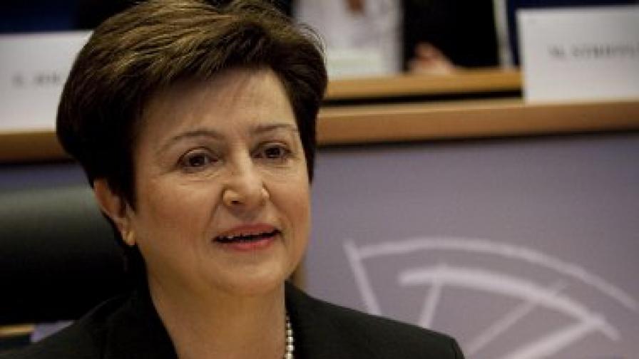 Кристалина Георгиева ще бъде един от заместниците на Катрин Аштън