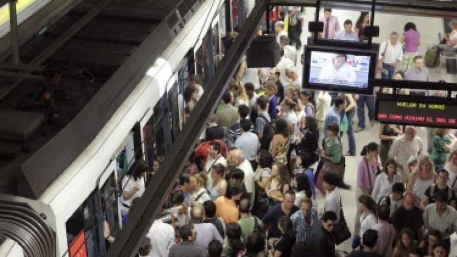 Пътниците в Мадрид са сред най-съвестните в Европа