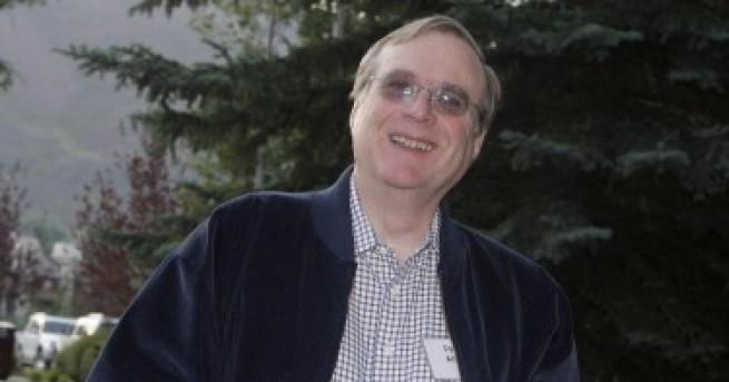 Съоснователят на Microsoft Пол Алън е починал на 65-годишна възраст,