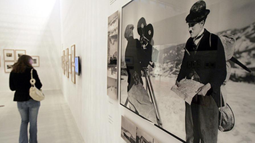 Показват изгубен филм на Чарли Чаплин