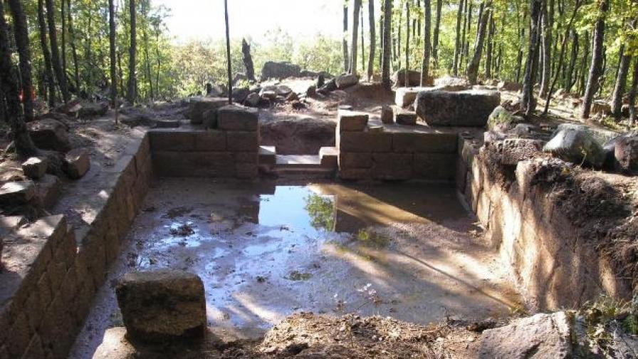 Резиденцията на тракийски владетели на Кози грамади