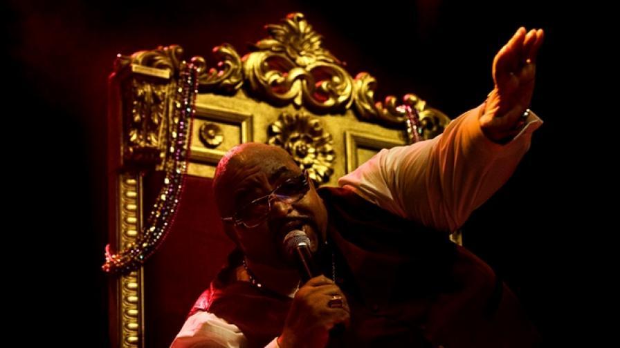 Соломон Бърк е голямата звезда в Банско през 2010 г.