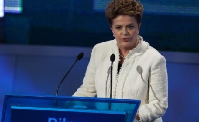 Българката Дилма Русеф напредва към президентския пост в Бразилия