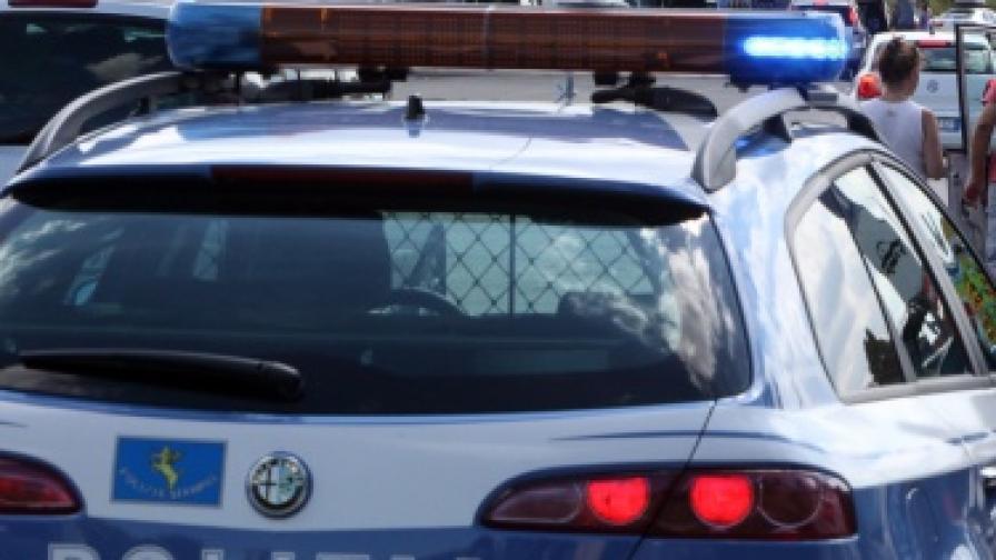 Питон пазел наркотиците на италиански трафиканти