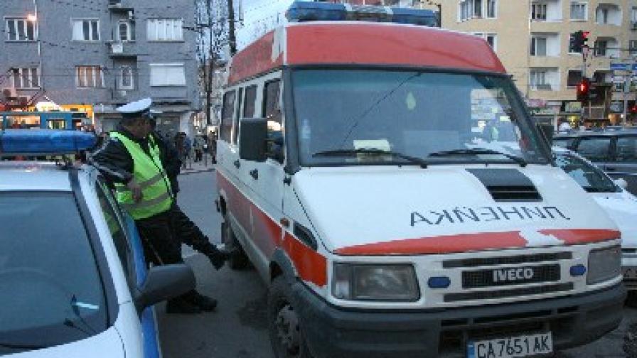 Арестант е прострелян със стоп-патрон при опит за бягство