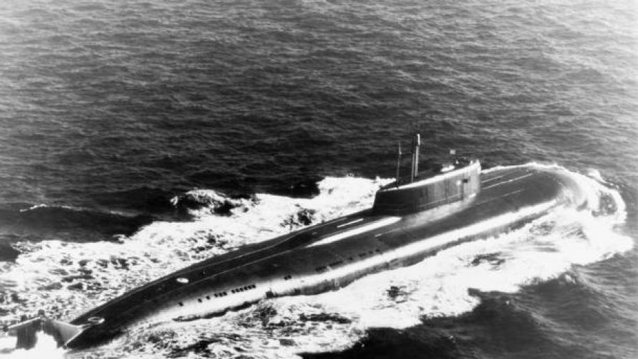 """Подводница от клас """"Оскар II"""", както ги нарича НАТО - същата като потъналата """"Курск"""""""