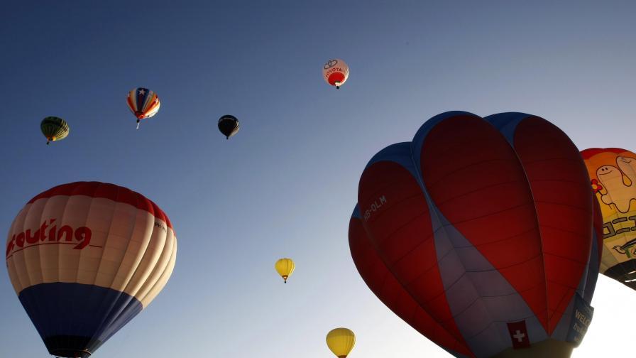 Четири дни балонена фиеста в Бристол