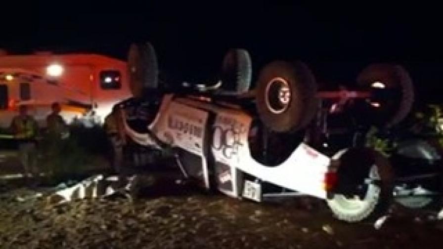 Калифорния: Осем загинаха на състезание с офроуд автомобили