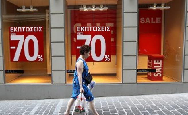 70% намаления в Гърция, но пазарът пак се срива