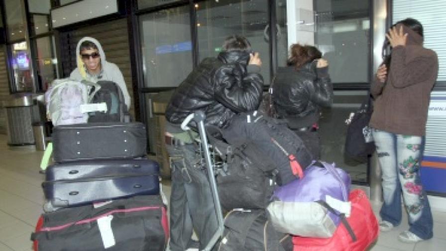 Набедиха върнали се роми за кражба на летище Варна