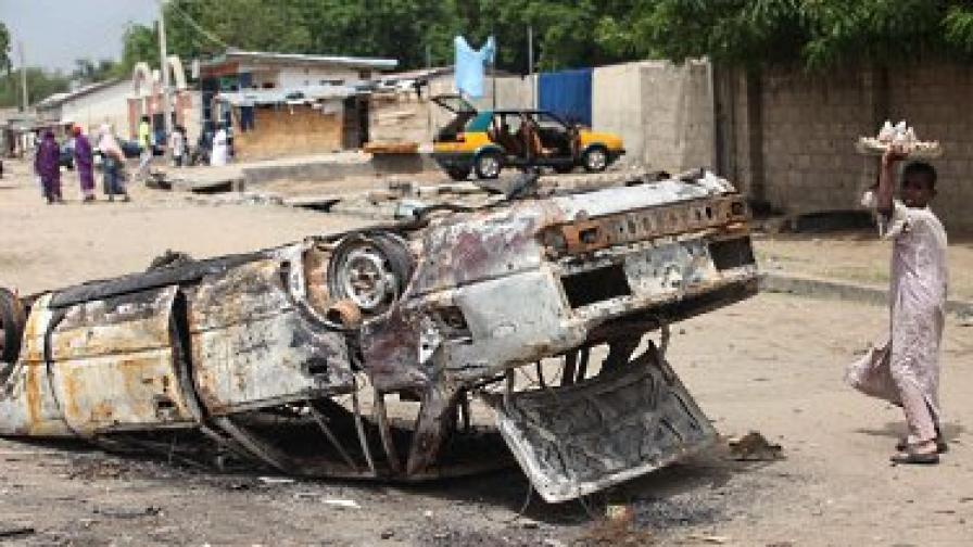 732 души избягаха от затвор в Нигерия