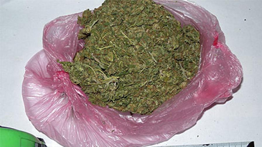 Част от иззетите наркотици