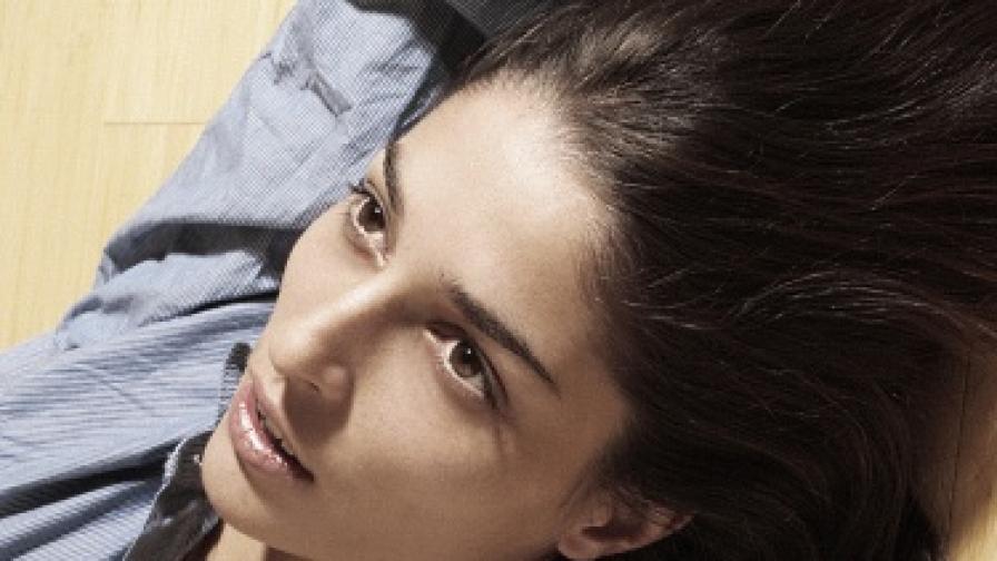 Таня Илиева се снима за Седмицата на модата в Ню Йорк