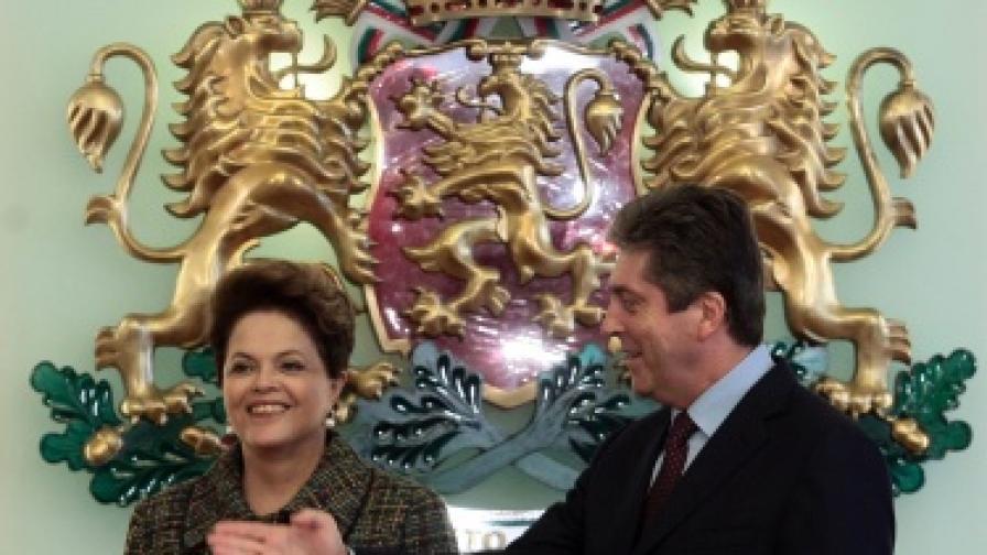 Дилма Русеф: България е в моето сърце!