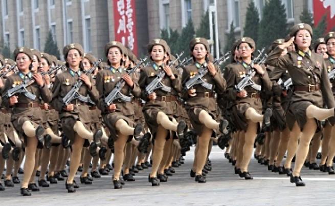 Дебют на Младия командир в Северна Корея